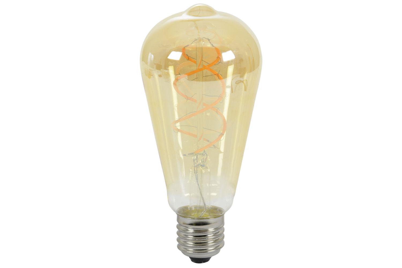 ST64 Spiral Filament Lamp E27 5W