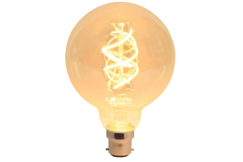 G95 Spiral Filament Lamp B22 5W