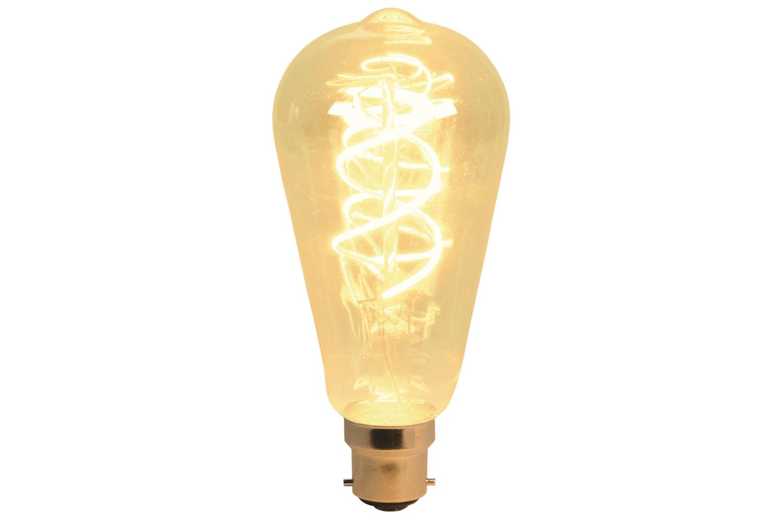 ST64 Spiral Filament Lamp B22 5W