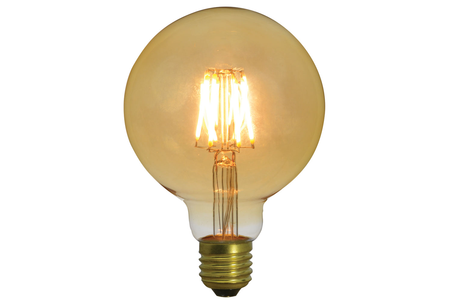 G95 LED Filament Bulb E27 4W Dimmable