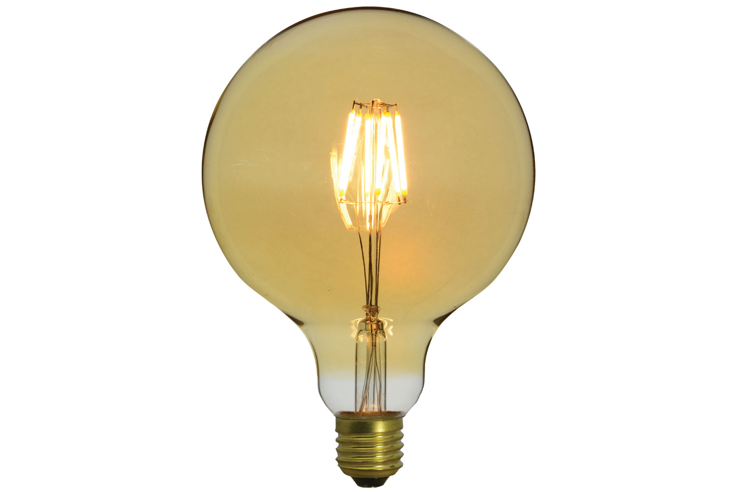 G125 LED Filament Bulb E27 4W Dimmable