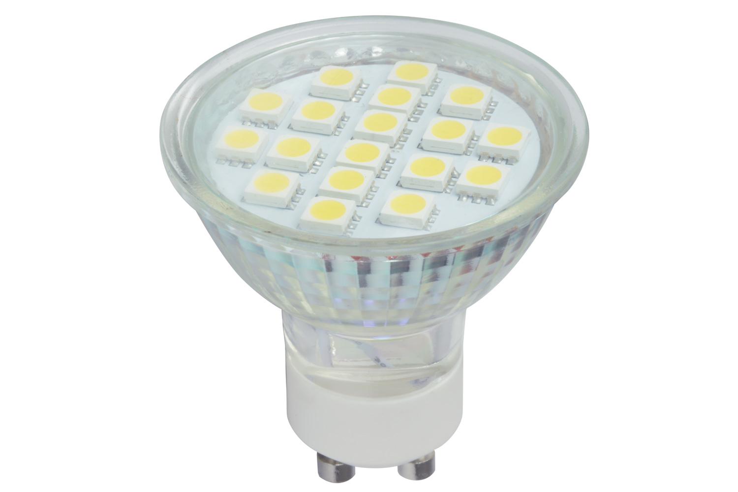lyyt GU10 18 LED lamp - cool white 6000K)