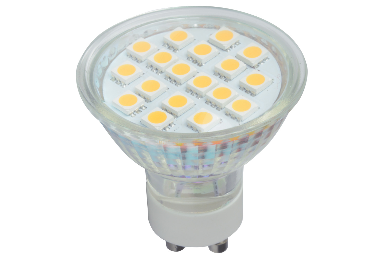 lyyt GU10 18 LED lamp - warm white (3000K)