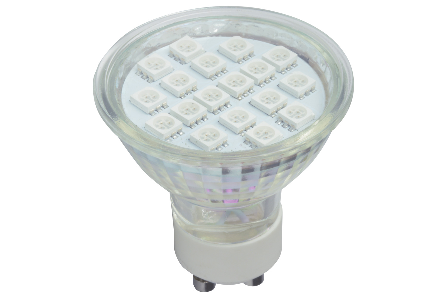 lyyt GU10 18 LED lamp - blue