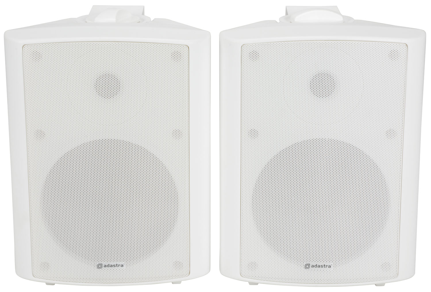 adastra BC6A-W active stereo speaker set - white
