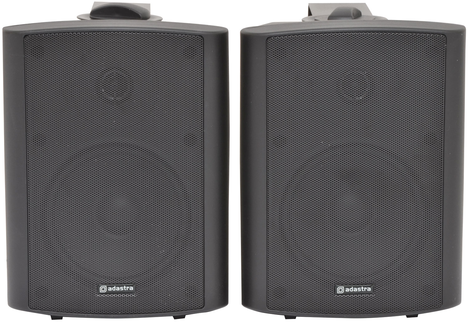 adastra BC6A-B active stereo speaker set - black