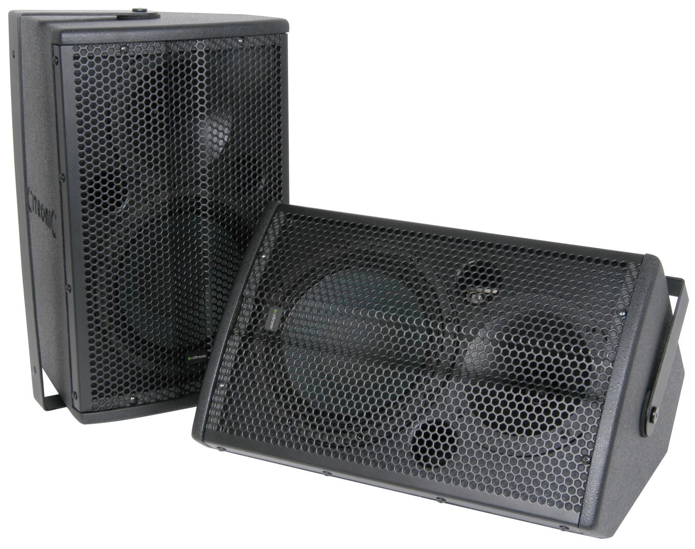 "CITRONIC ULTIMA CX-8086 Speaker System, 6""/80W, White"
