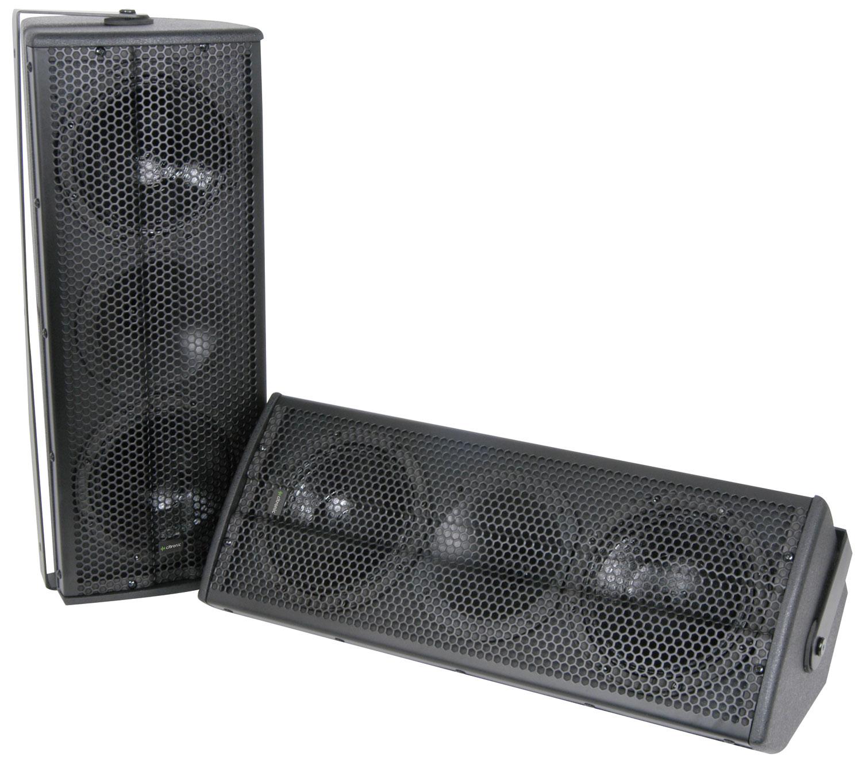 """CX-1608 Full Range Speaker System, 2 x 6""""/160W, Black"""