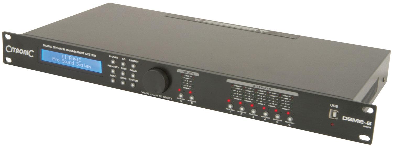 DSM2-6 MKIII digital speaker management system
