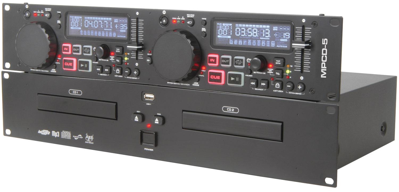 MPCD-5 Citronic Dual CD/MP3 Player USB