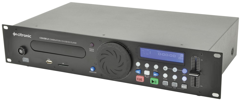 CDUSB-2 rackmount CD/USB/SD player 2U CDUSB-2