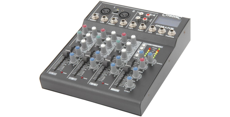 CM10-LIVE Compact Mixer 10ch+U