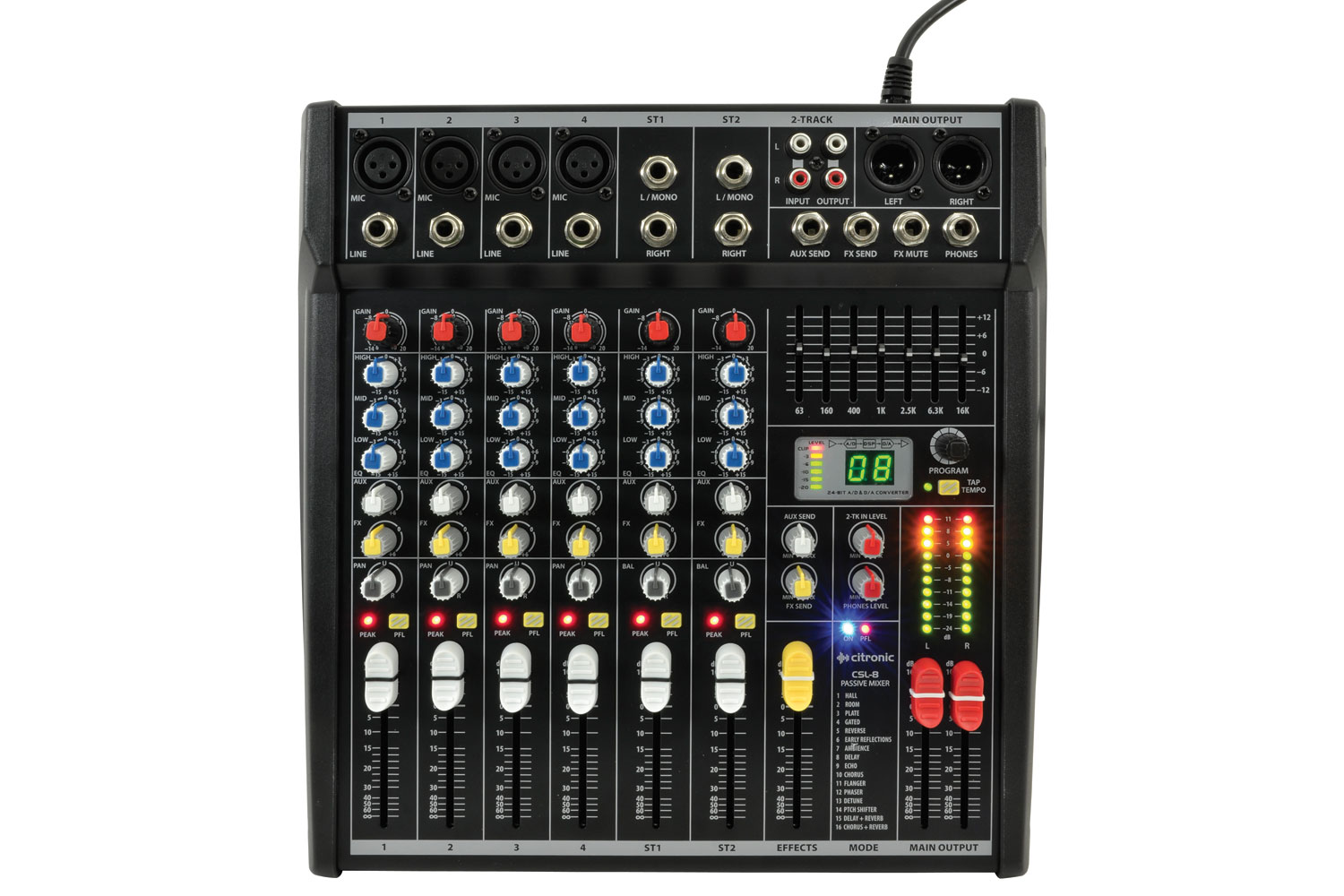 CSL-10 mixing console 10 input