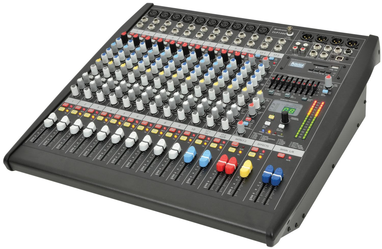 CLP1200 powered mixer 2 x 600W