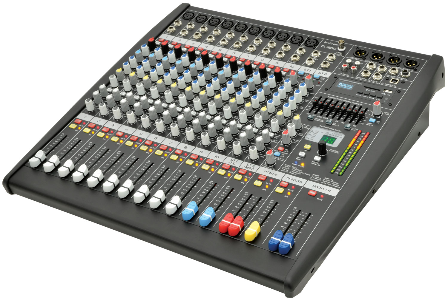 CL1200 12 channel mixing console CL1200