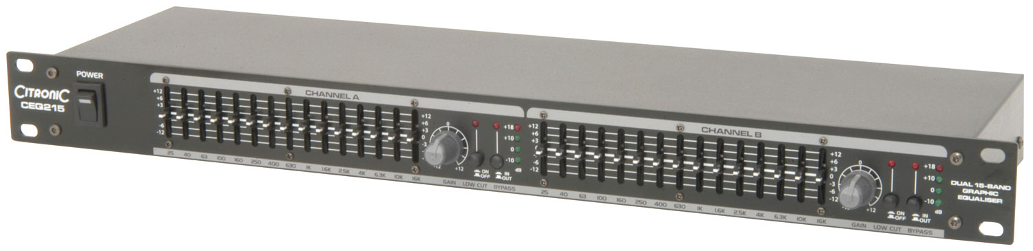 CEQ215 2 x 15-band graphic EQ