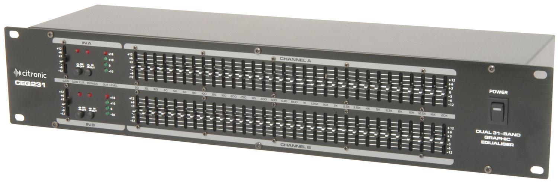 CEQ231 2 x 31-band graphic EQ