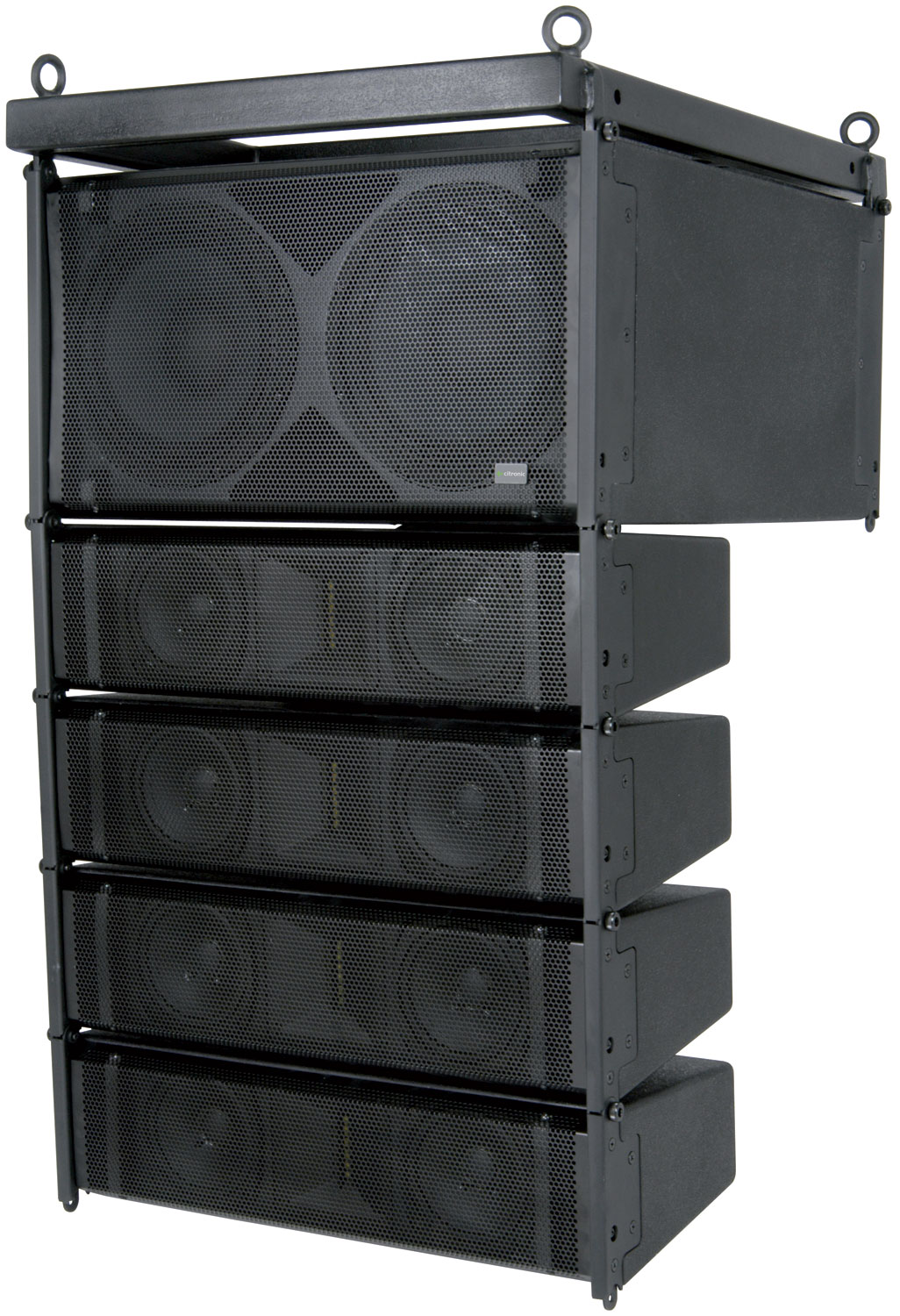CLA-300 Active Line Array Speaker System, 300W + 300W, Black