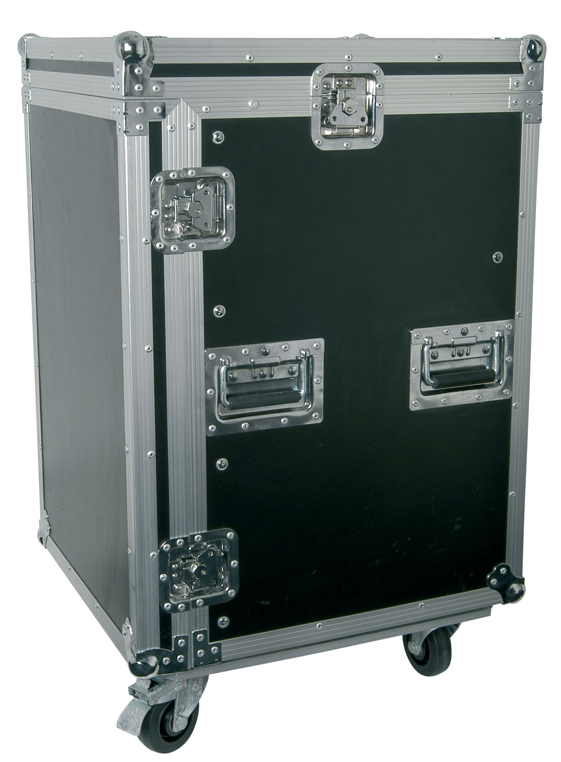 "10U 19"" rack case with wheels"
