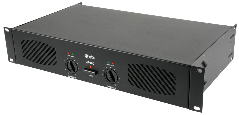 qtx Q1000 power amplifier 2 x 500W
