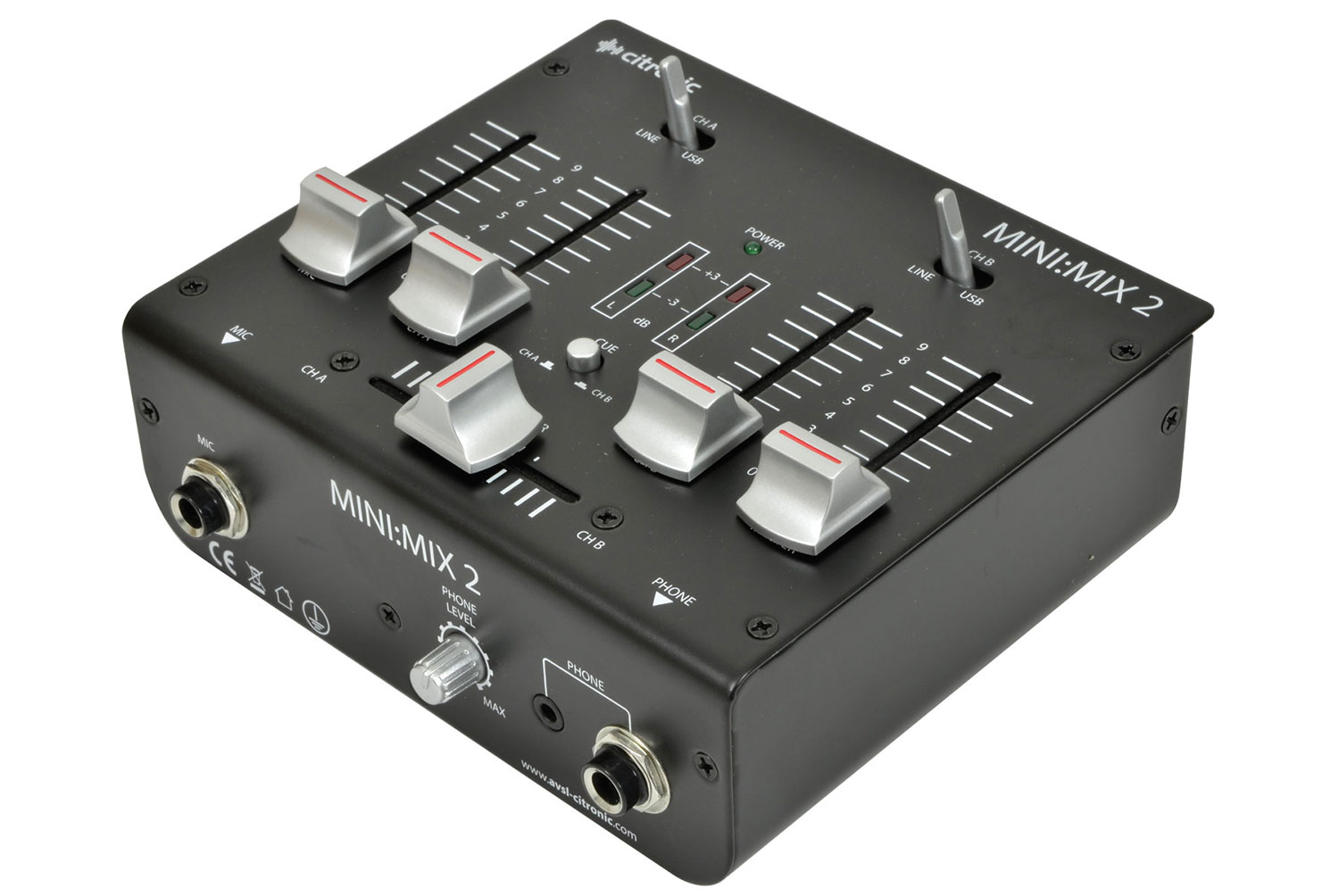 MINI:MIX2 USB mixer