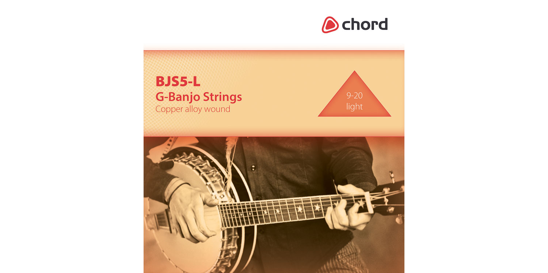 G-banjo string set