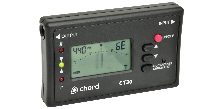 Chord CT30 guitar/chromatic tuner