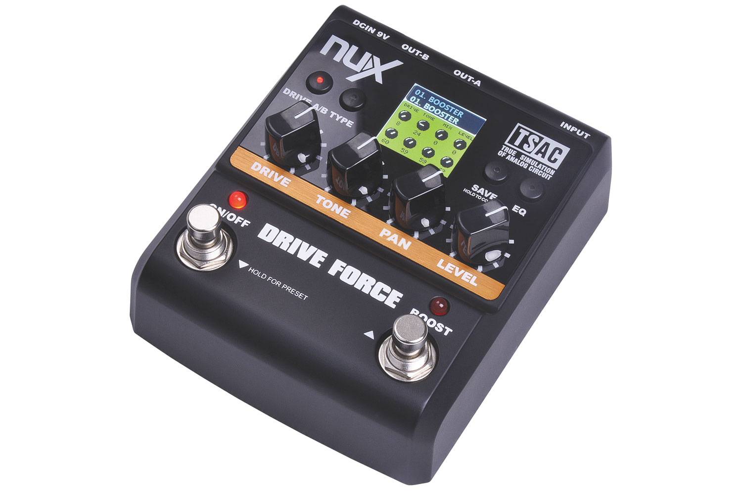 NUX Time Force delay + 40sec. looper pedal