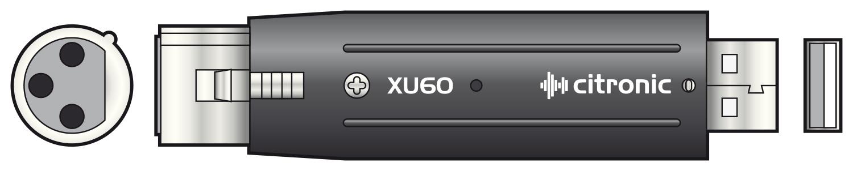 XLR - USB adaptor interface