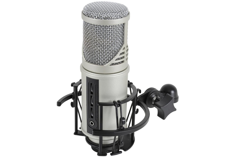 CU-MIC studio microphone with USB audio interface