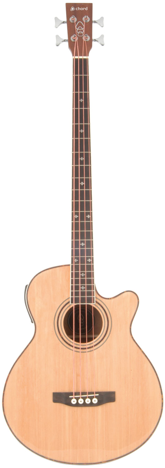 CJB4CE Electro-acoustic bass Natural gloss