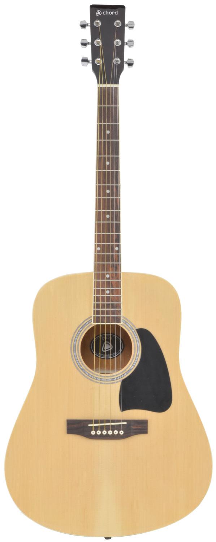 CW26 western guitar - black