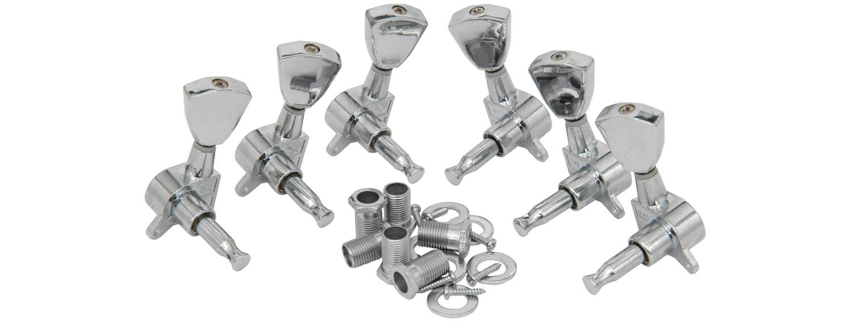 Set of 3-a-side Tuners - Chrome