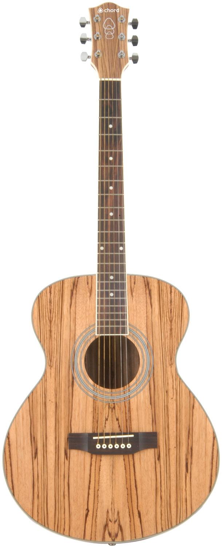 NA40PA Native piebald ash acoustic guitar