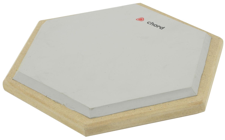 Hexagon drum practice pad