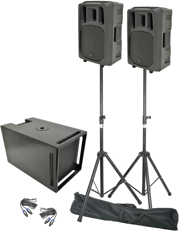 CXV1008 active 2.1 PA system