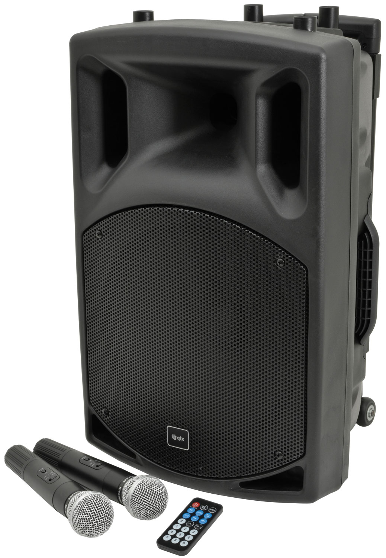 QX12PA Portable PA 178853 unit Bluetooth USB/SD/FM player