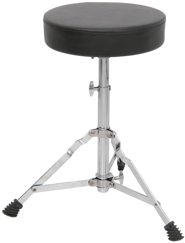 Drum throne - round seat