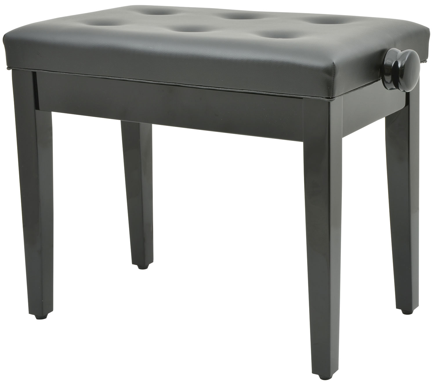 Chord Piano bench - black