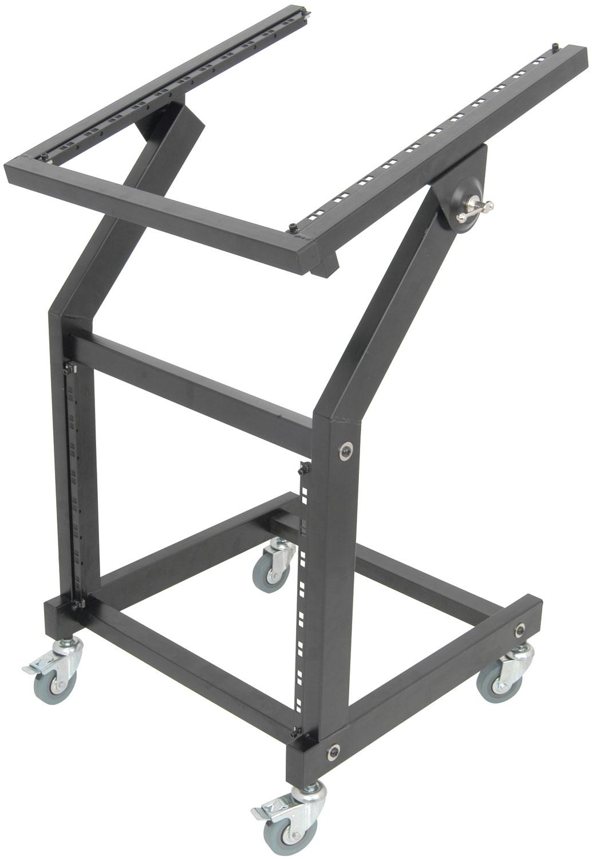 Mixer & equipment rack trolley MSX9U12U