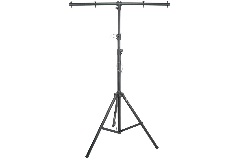 Black aluminium lighting stand - 3.5m max
