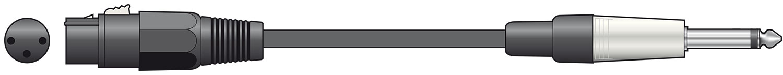 Classic Lead XLR-Jack 1.5m Black