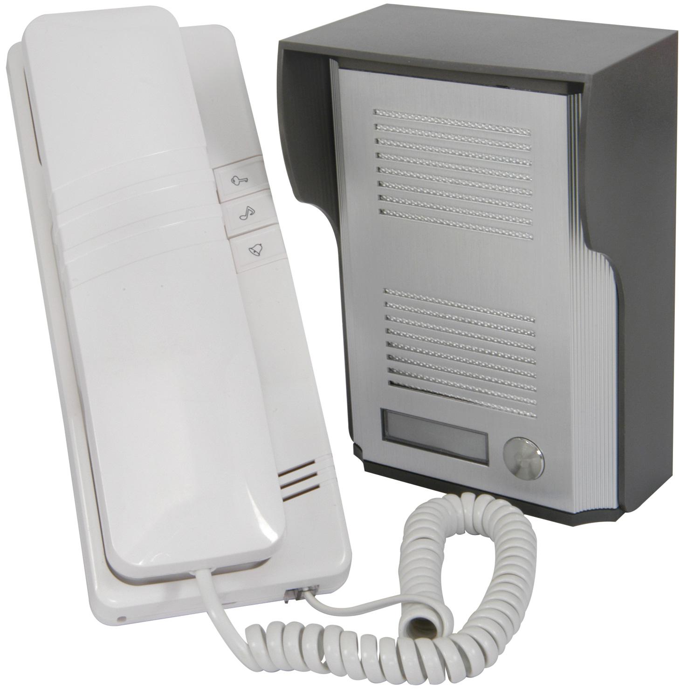 Wired Door phone white