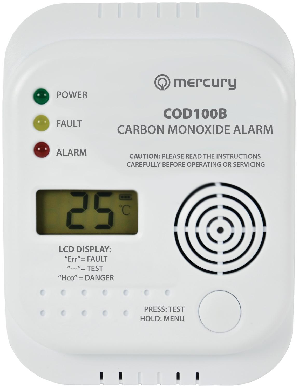 COD100B Carbon Monoxide Alarm