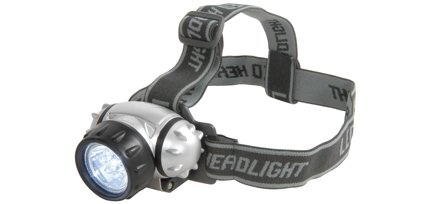 7 LED Mini Head Light