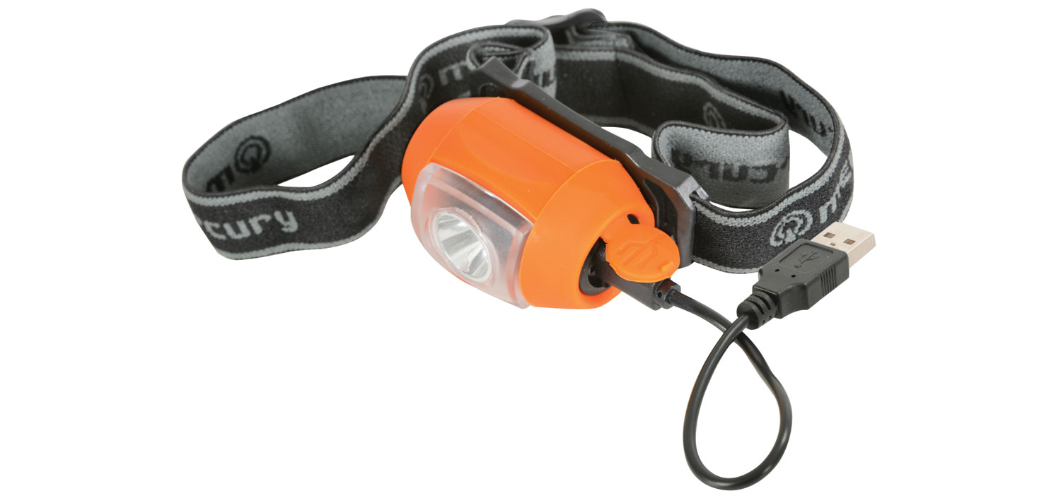 mercury 1W LED Rechargeable Head Light