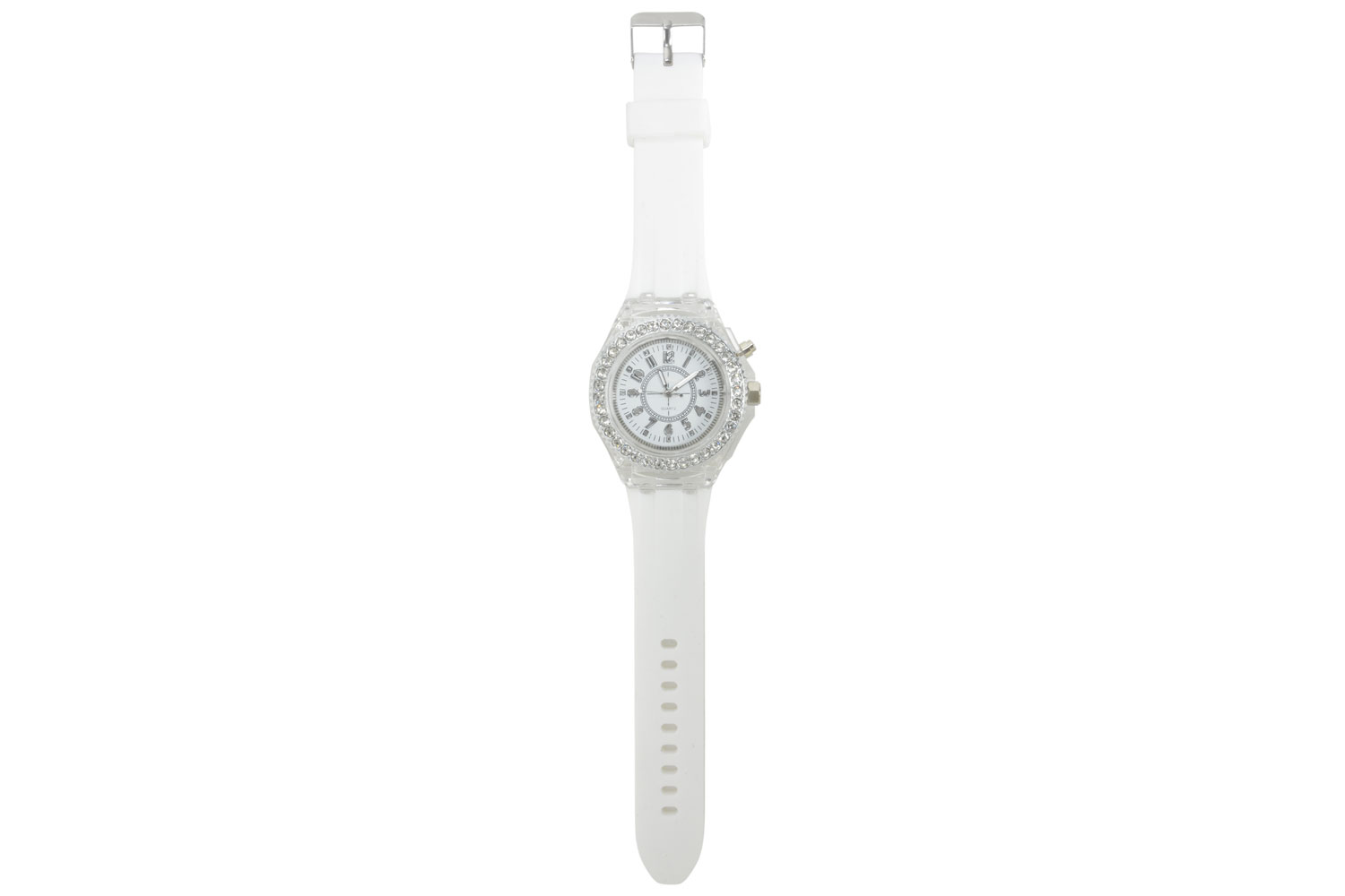 unbranded White LED Watch Small