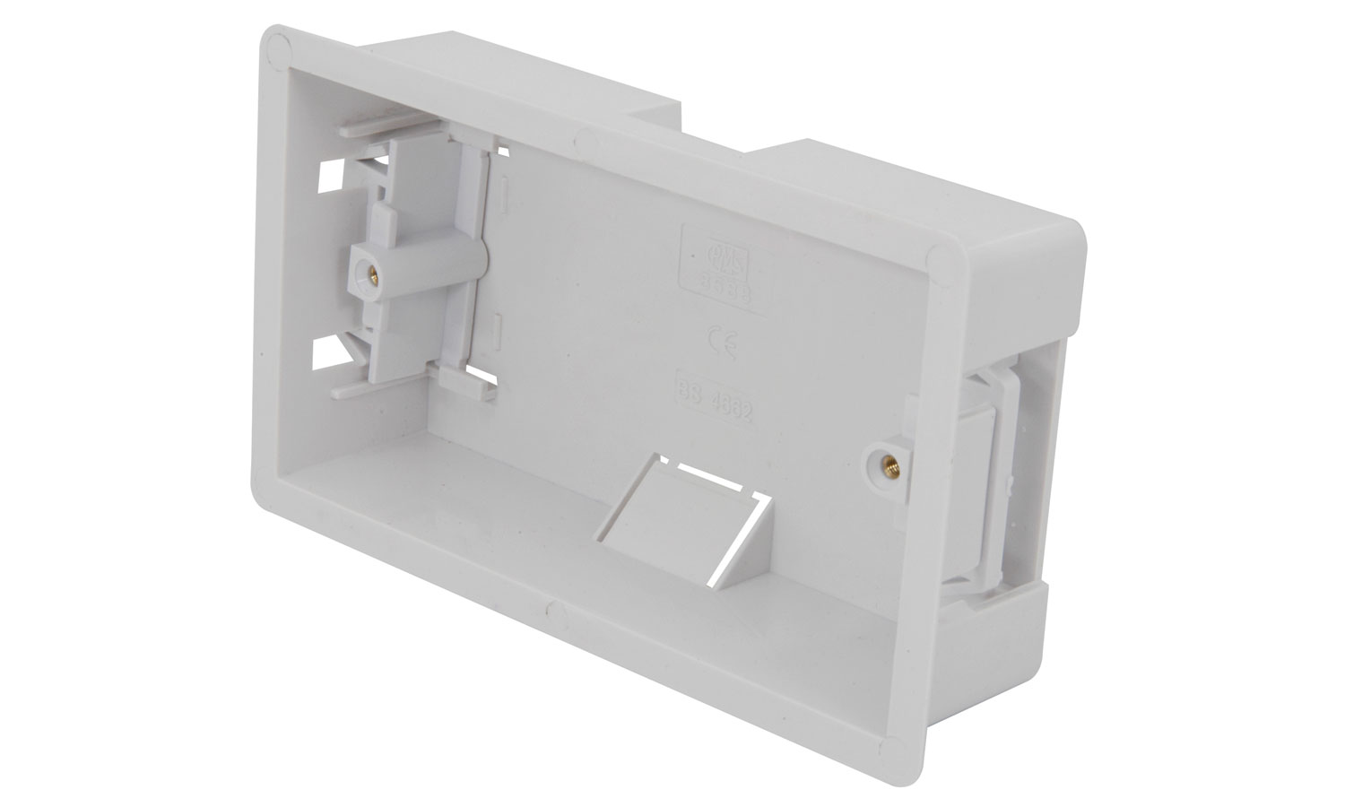 WA40 Double dry ling box, flush mount