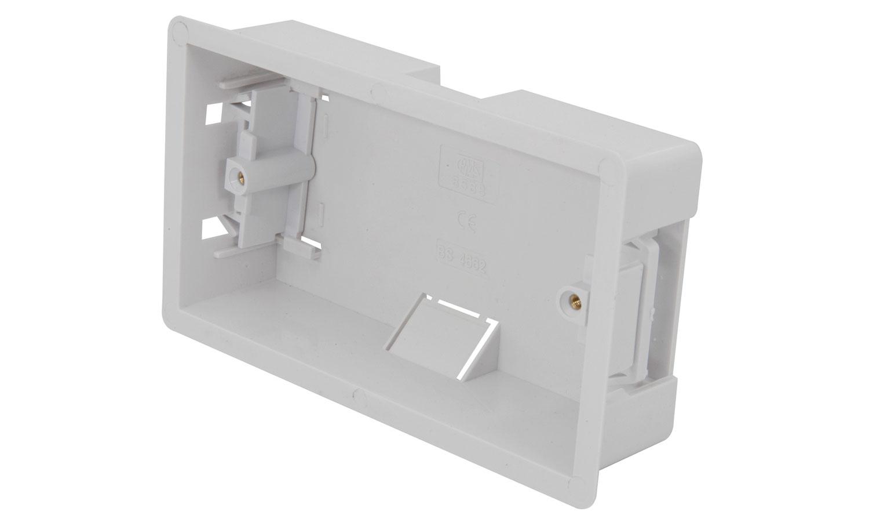 WA40 Double dry ling box, flush mount