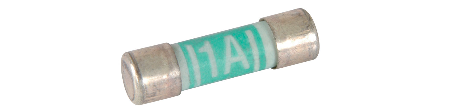 1A Fuses (2/Blister)